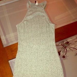 Heather grey stretchy dress S